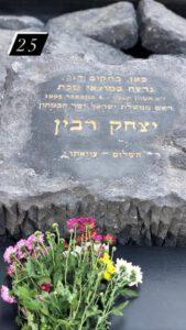 האנדרטה בכיכר רבין
